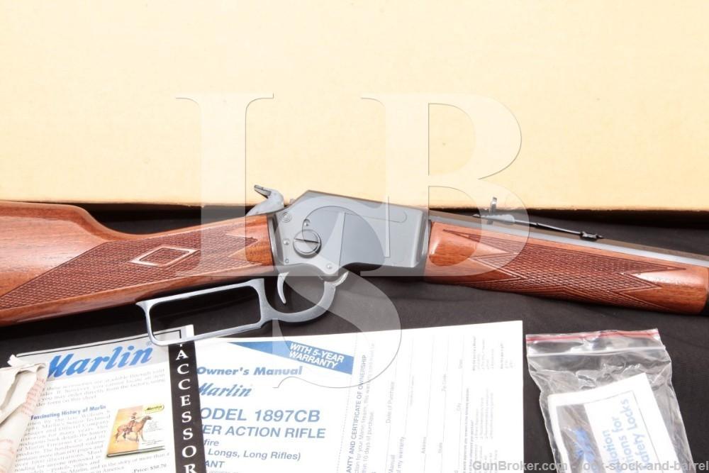 "Marlin Model 1897 Cowboy Like 39 JM Marked 24"" .22 LR Lever Rifle, MFD 1999"