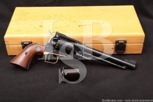 "Ruger Pre-Warning Old Army 45 Cal & 45 LC 7.5"" Cap & Ball BP Revolver 1973"