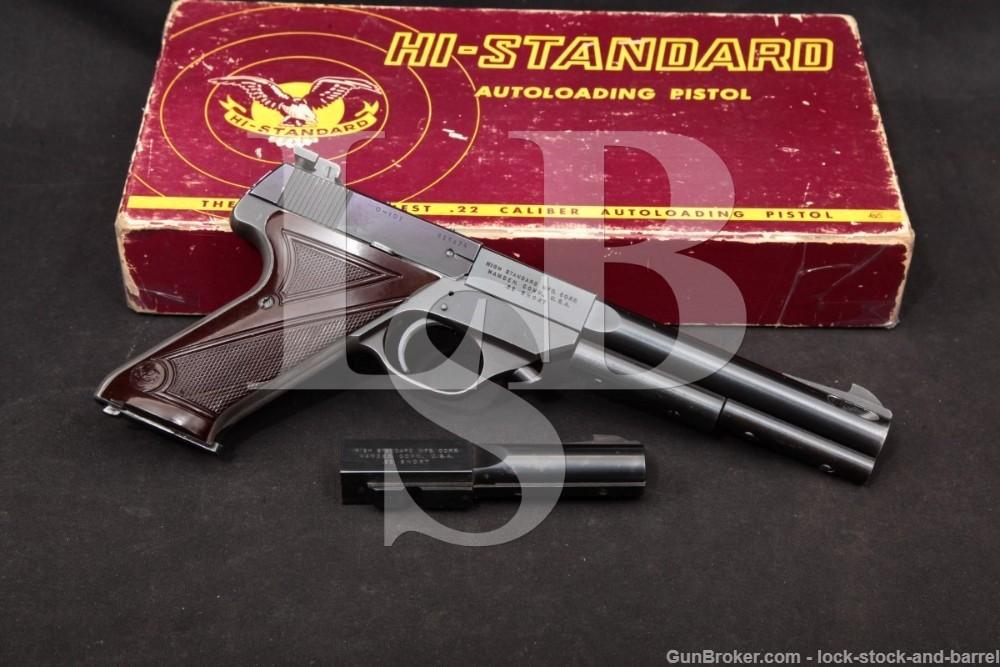 Hi High Standard Olympic Model 101 9123 .22 Short Semi-Auto Pistol,1956 C&R