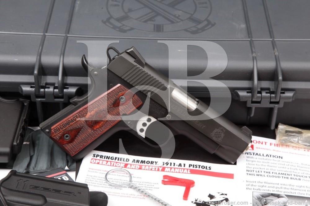 "Springfield Armory 1911 Range Officer Compact P19126LP .45 ACP 4"" Pistol"