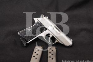 "Interarms Walther Model PPK/S PPK S .380 ACP 3 3/8"" Semi-Automatic Pistol"