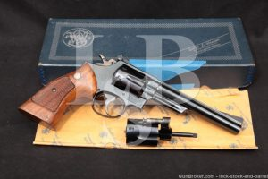 1st Year Smith & Wesson S&W 53 .22 Remington Jet 22 LR Revolver, 1961 C&R
