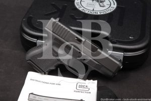 "Glock Model 26 Gen 3 G26 9mm 3.46"" Striker Fired Semi-Automatic Pistol"