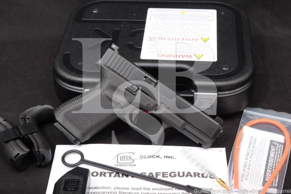 """Glock Model 19 Gen 5 G19 9mm 4.02"""" Striker Fired Semi-Automatic Pistol"""