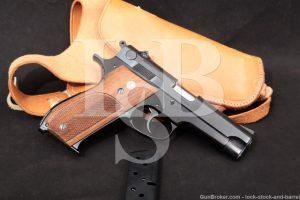 Smith & Wesson S&W Model 39 No Dash 9mm Semi-Auto Pistol, MFD 1957-1969 C&R