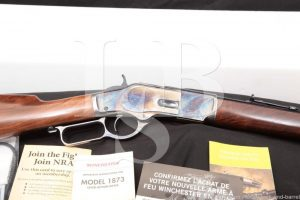Winchester Model 1873 Short Rifle Case Color .44-40 WCF Lever Rifle, 2018