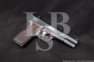 Israel Arms & Ammo Kareen Like Browning Hi Power 9mm Semi-Auto Pistol 1980s