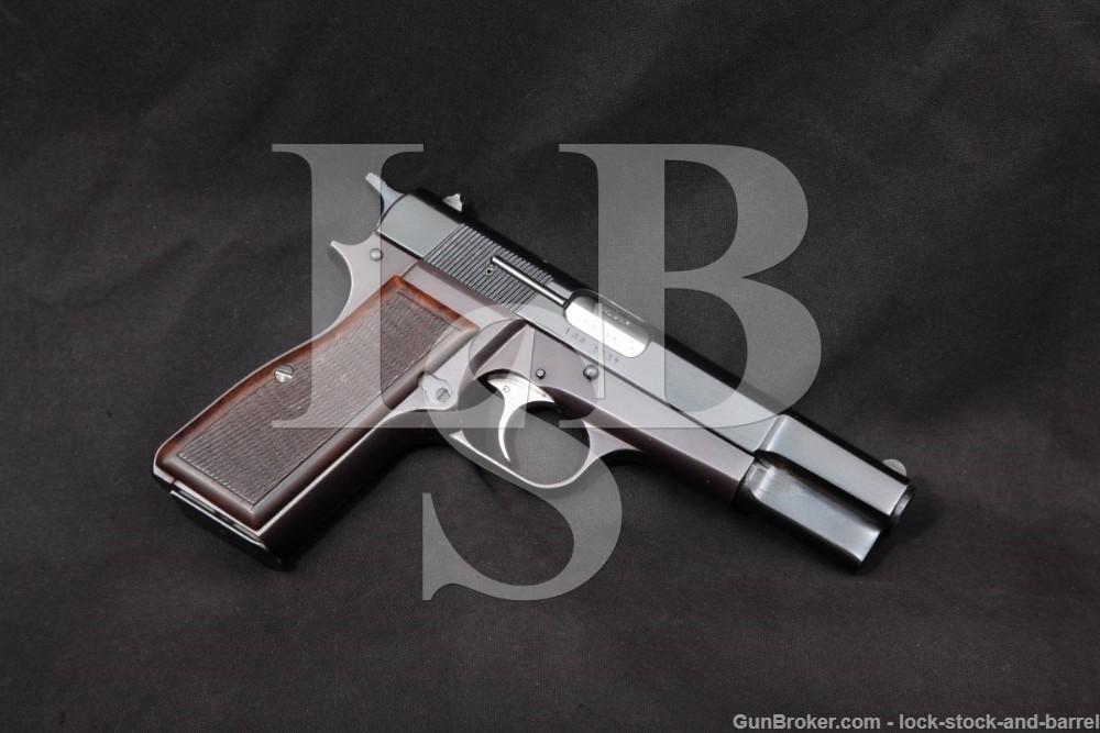 Israel Arms & Ammo Kareen Like Browning Hi Power 9mm Semi-Auto Pistol 1980s
