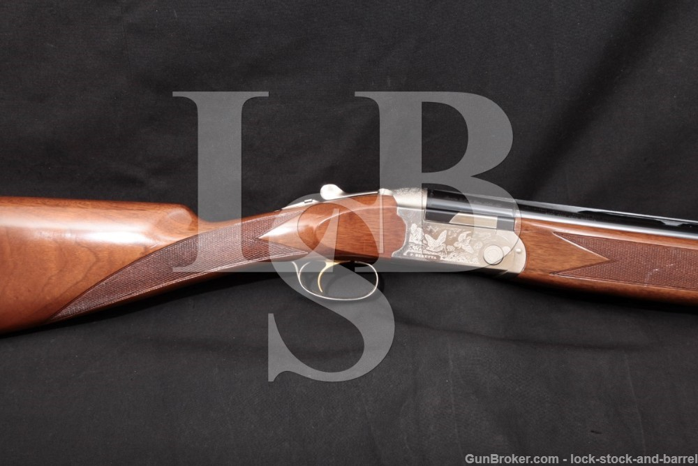"Beretta Model 687 Ultralight J687547 12 GA 26.5"" Over Under Shotgun OU 1998"