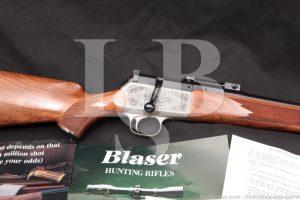 """Blaser model R84 R-84 24"""" 7mm Rem Mag Bolt Action Rifle, MFD 1988-94"""