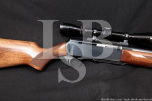 "Browning BAR High Power 24"" 7mm Remington Magnum Semi-Automatic Rifle, 1979"