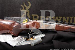 Browning BT-99 BT99 Golden Clays Adjustable 12 GA Single Shot Shotgun, 2017