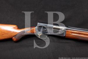 Browning FN Auto-5 A5 A-5 Magnum Twenty 20 GA Semi-Auto Shotgun, 1968 C&R