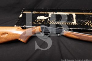 Browning FN SA22 SA-22 Grade I Takedown .22 LR Semi-Auto Rifle, 1970 C&R