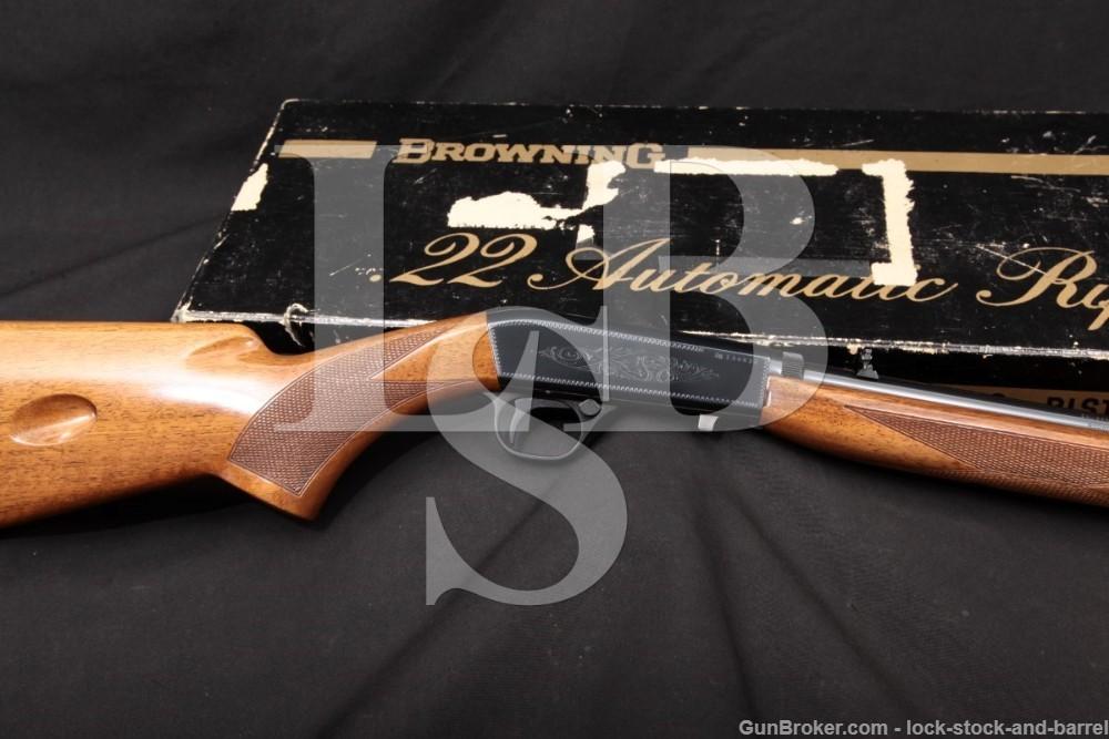 Browning FN SA22 SA-22 Grade I Takedown .22 LR Semi-Auto Rifle, 1970 C&R