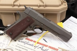 CMP Field Grade Colt Remington Rand 1911A1 1911-A1 .45 ACP Pistol, 1943 C&R