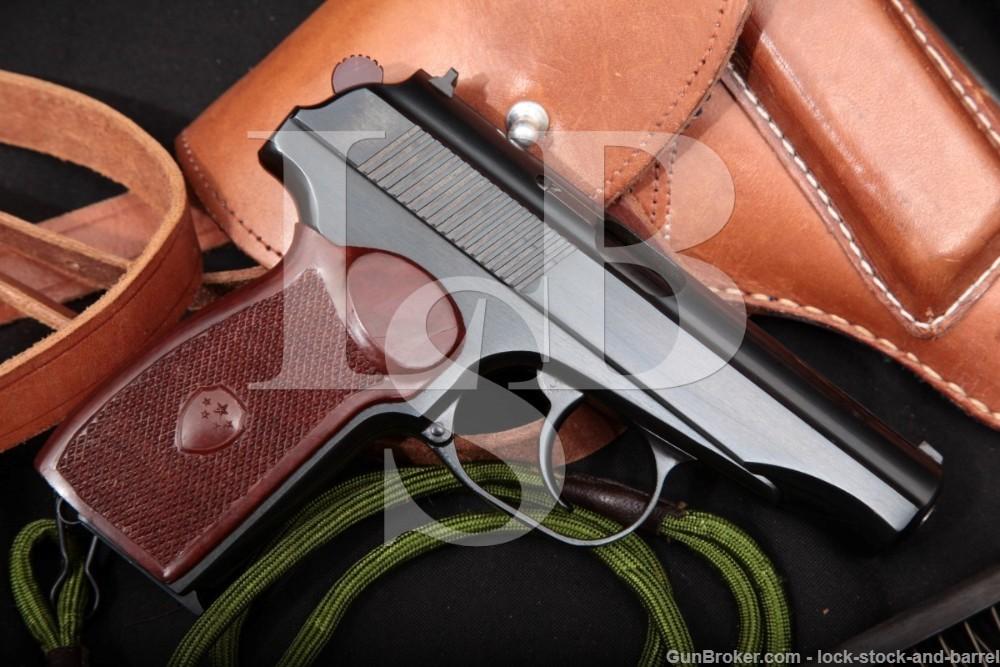 Chinese Factory 66 Makarov PM SHI 59 9x18 Semi-Auto Pistol & Holster C&R