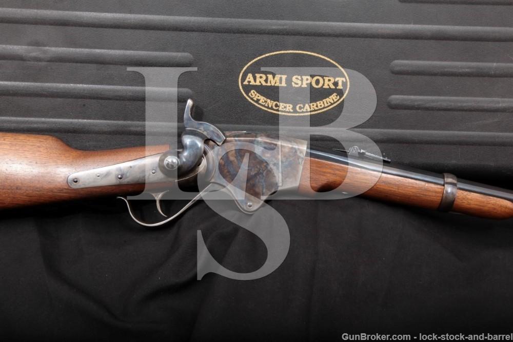 Cimarron Armi Sport Repro 1860 Spencer Carbine 56/50 Lever Rifle, MFD 2005