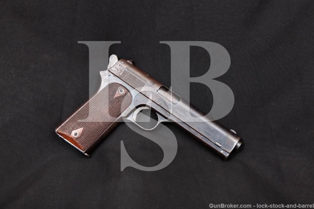 Colt Early Model 1905 The First .45 ACP Pre-1911 Semi-Auto Pistol, 1906 C&R
