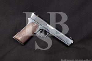 Colt Early Model 1905 The First .45 ACP Pre-1911 Semi-Auto Pistol, 1907 C&R