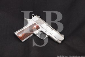 Colt MK IV Series 80 Officer's ACP Stainless 1911 45 Semi-Auto Pistol, 1994
