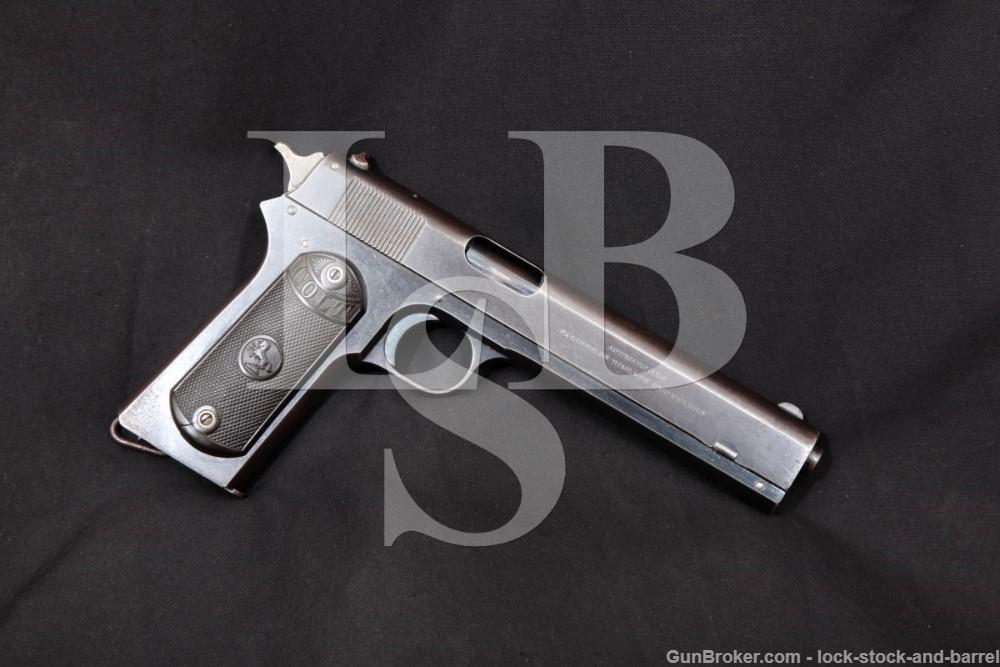 Colt Model 1902 Military 38 ACP Rimless Smokeless Semi-Auto Pistol 1914 C&R