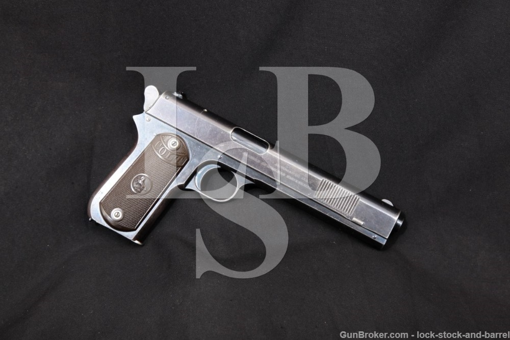 Colt Model 1902 Sporting 38 Rimless Smokeless ACP Semi-Auto Pistol 1903 C&R