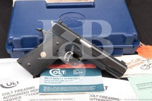Colt Series 80 Gold Cup National Match 1911 .45 ACP Semi-Auto Pistol, C&R