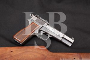 FN Belgian High Hi Power Finnish Contract 9mm Semi-Auto Pistol, 1940 C&R