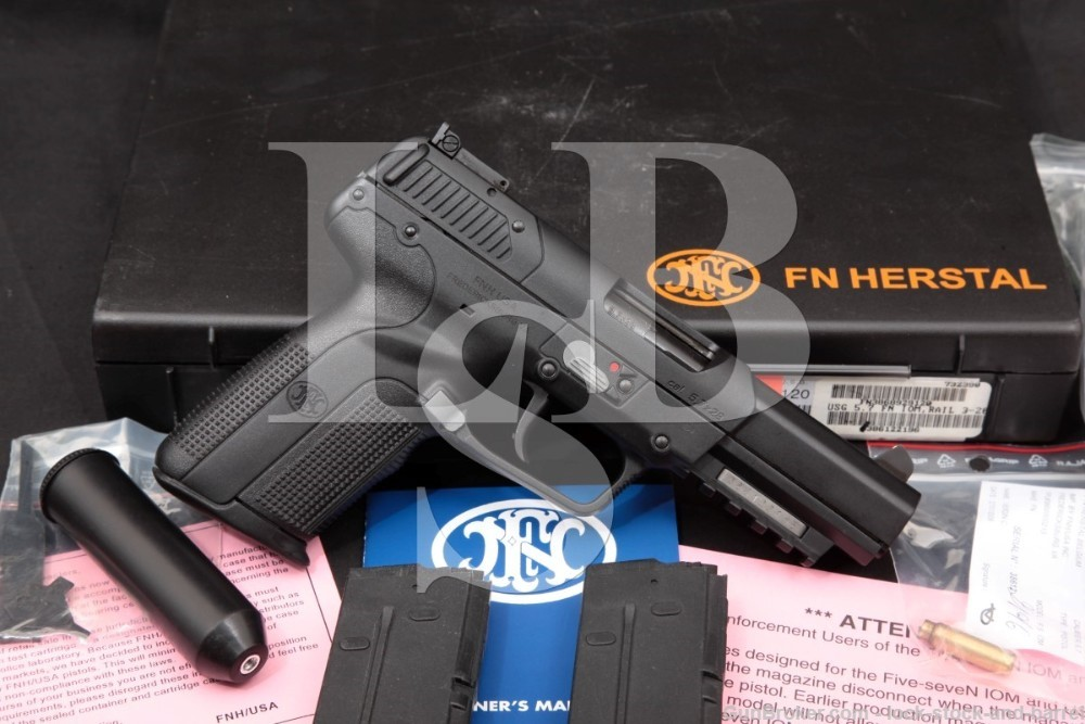 "FNH-USA Model Five-seveN 5.7x28mm 4.75"" Single Action Semi-Auto Pistol 2006"