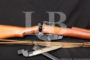 Fazakerley Enfield No. 4 MK 2 No4 Mark II .303 British Bolt Rifle, 1955 C&R