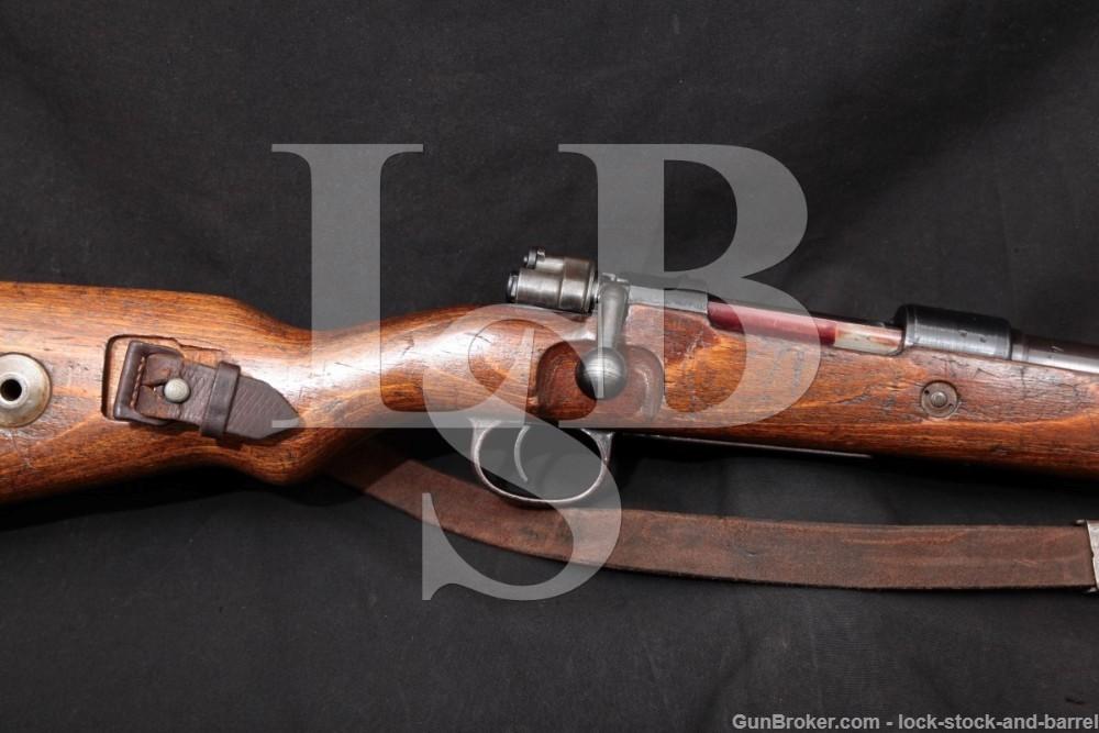 German K98 Nazi byf 8mm Mauser Bolt Action Rifle MFD 1944 C&R