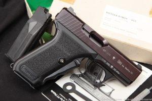 Heckler & Koch H&K HK Model P7M10 P7-M10 .40 S&W Squeeze Cock Pistol, 1993