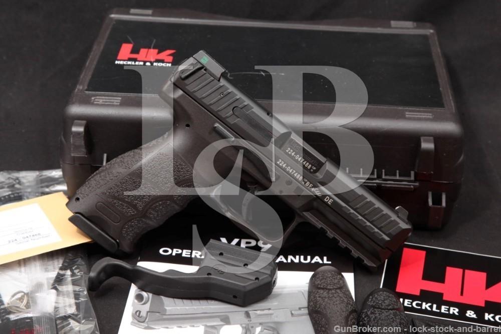 "Heckler & Koch H&K HK Model VP9 VP-9 9mm 4.09"" Semi-Automatic Pistol 2015"