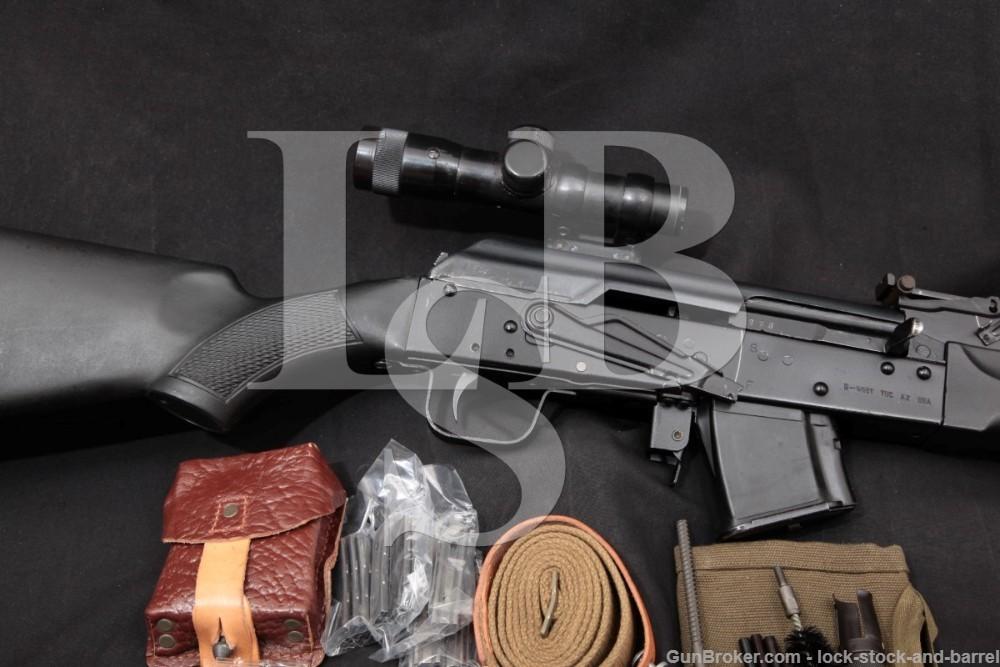 """Kalashnikov/Izhmash Saiga Sporter 20"""" 7.62x39mm Semi-Auto Rifle, MFD 2010"""