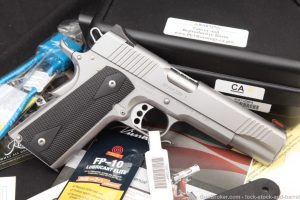 "Kimber Stainless II 2 1911 1911A1 .45 ACP 5"" Single Action Semi-Auto Pistol"