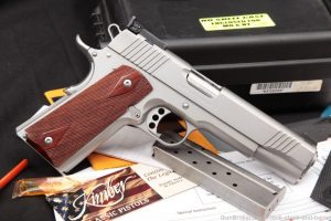 "Kimber Stainless Target II 2 1911 1911A1 10mm 5"" Semi-Auto Pistol"