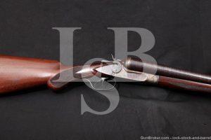 """New Ithaca Gun NIG 10 GA 32"""" Hammer SXS Side by Side Shotgun, MFD 1909 C&R"""