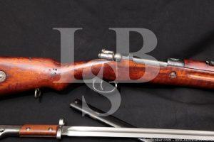 Persian 98/29 Mauser Iranian Czech 8mm Bolt Action Rifle Bayonet C&R