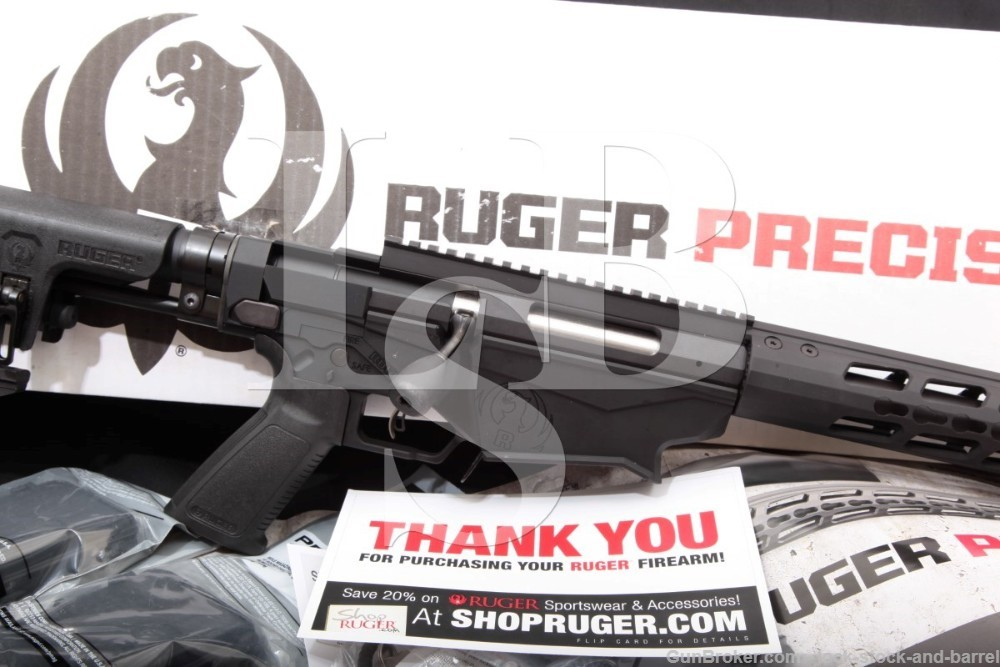 Ruger American Precision Rifle RPR 18008 6.5 Creedmoor Bolt Action, 2017