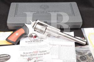 """Ruger Model Super Redhawk 05501 .44 mag 7.5"""" Double Action Revolver 2001"""