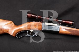 "Savage Model 99-F Featherweight .308 Win. 22"" Lever Action Rifle 1962 C&R"