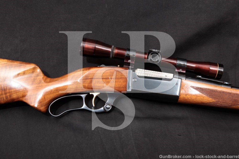 """Savage Model 99-F Featherweight .308 Win. 22"""" Lever Action Rifle 1962 C&R"""