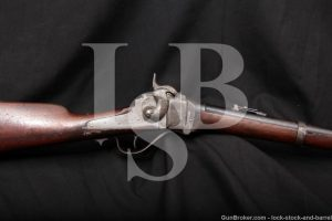 Sharps New Model 1863 .50-70 Gov't 1869 Conversion Rifle, 1863-1865 Antique
