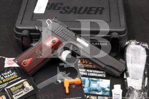 """Sig Sauer Model 1911 Target 1911-A1 1911A1 .45 ACP 5"""" Semi-Auto Pistol 2015"""
