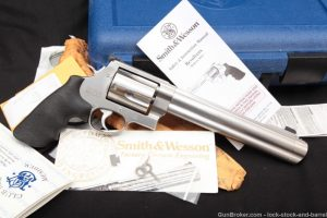 """Smith & Wesson Model 500 8 3/8"""" .500 S&W Double Action Revolver, MFD 2004"""
