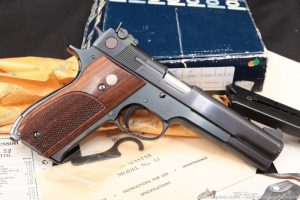Smith & Wesson S&W 52-2 .38 Special Master Mid-Range Semi-Auto Pistol, 1982