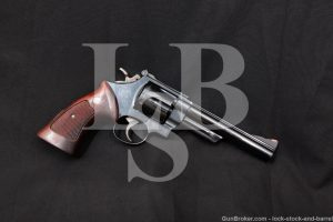"Smith & Wesson S&W Model 25-5 1955 6"" .45 Colt Revolver MFD 1979-1980 NO CA"
