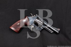 "Smith & Wesson S&W Model 29 No Dash 4"" .44 Magnum Revolver, 1960-1961 C&R"