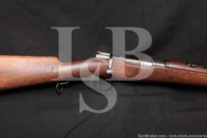 Spanish 1895 Carbine German 7mm Mauser Matching Bolt Action Rifle Antique